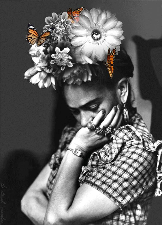 F&O Fabforgottennobility — the-eternal-moonshine: Wondering Frida (more...