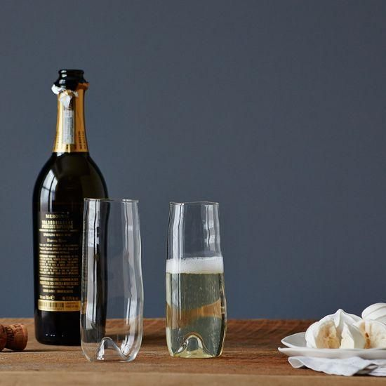 A festive vessel for your festive bubbly. #Food52