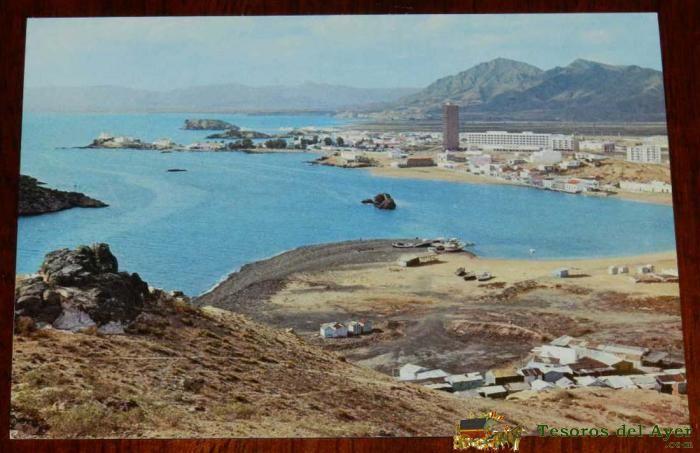 TesorosDelAyer.com · POSTALES DE ESPAÑA · MURCIA · Antigua foto postal de Puerto de Mazarron, Murcia, ed. Garcia Tomas, no circulada.