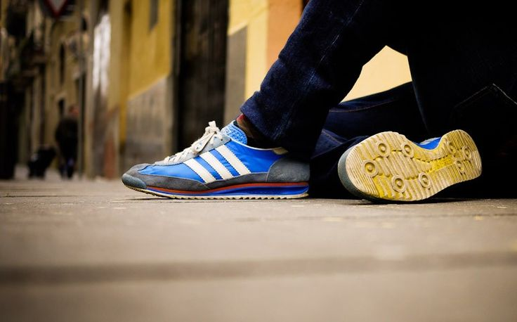 adidas sl 72 vintage azul blanco sneakers pinterest. Black Bedroom Furniture Sets. Home Design Ideas