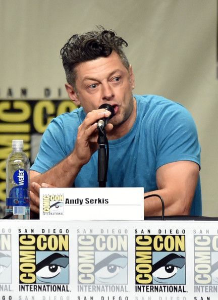 Andy Serkis attends the Legendary Pictures preview and panel during Comic-Con International 2014 at San Diego Convention Center on July 26, 2014 in San Diego, California.