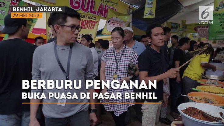 Ramadan jadi moment yang spesial bagi warga Jakarta untuk berburu penganan buka puasa, salah satu surga kuliner buka puasa, yang sudah melegenda pasar Benhil