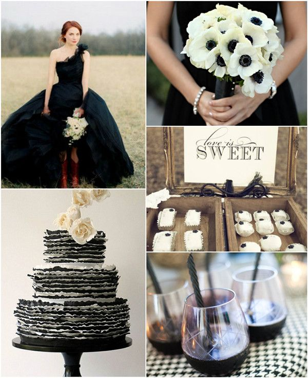 20 best Halloween Inspired Wedding Ideas images on Pinterest ...
