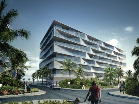 "BIG Unveils ""Honeycomb"" Condominium for Bahamas Resort:"