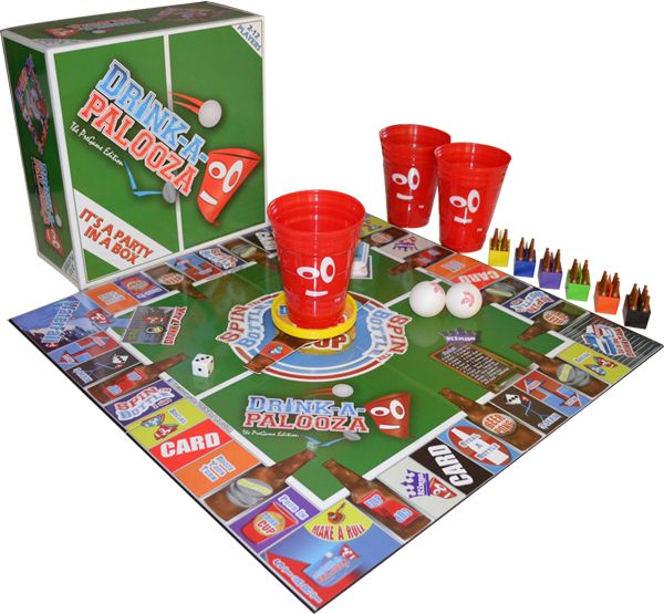 Drinking games proves to be a great social icebreakers at the party. We are Presenting you with one of the best drinking board game that is combination of different board games like beer pong, quarters, flip cup, kings cup and many more. Read More At-http://drink-a-palooza.com/tag/fun-drinking-game/