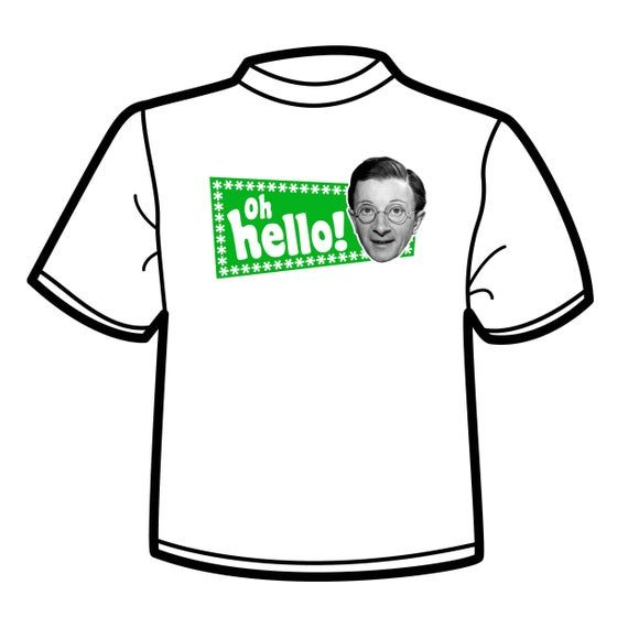Charles Hawtrey//carry on films t-shirt oh hello
