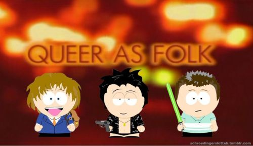 Me + Facebook South Park Character Creator + Photoshop = South Park Stuart with slutty shirt by teambaelish.tumblr.com