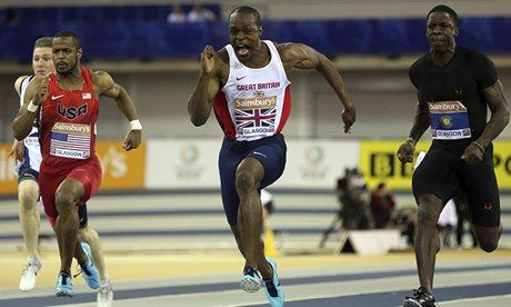 James Dasaolu cruises to 60m indoor victory at Glasgow International