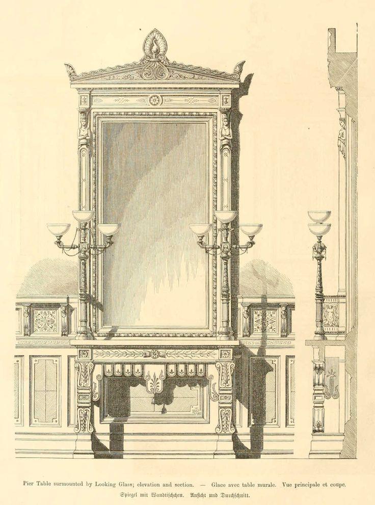 img/dessins meubles mobilier/glace avec table murale (vue principale et coupe).jpg
