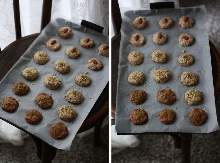 Děvče u plotny - Kokosovo-mandlové sušenky