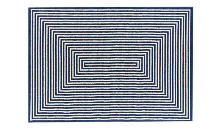 Vloerkleden en karpetten Navy| VLOERKLEED donkerblauw - vloerkleeddiscounter