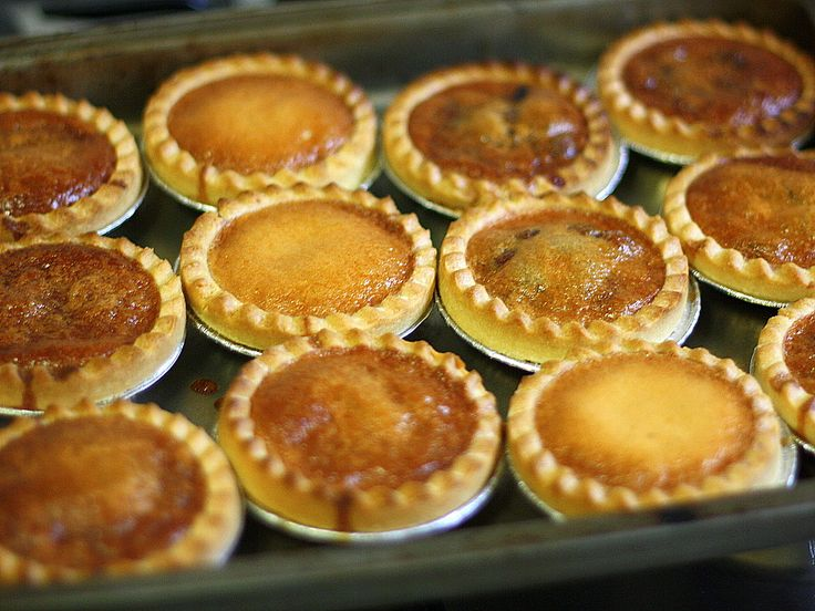 cooking butter tarts