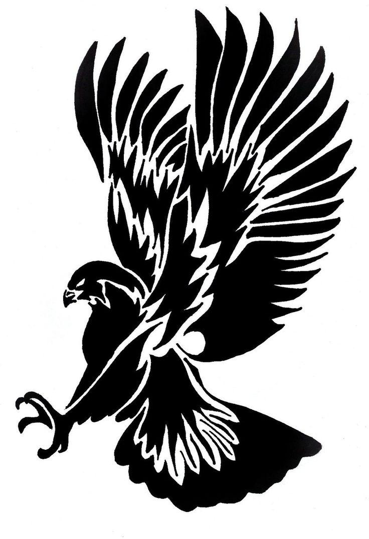 Tribal Hawk By Linkgilbs Designs Interfaces Tattoo Design 2009 2012 Design 900x1316 Pixel