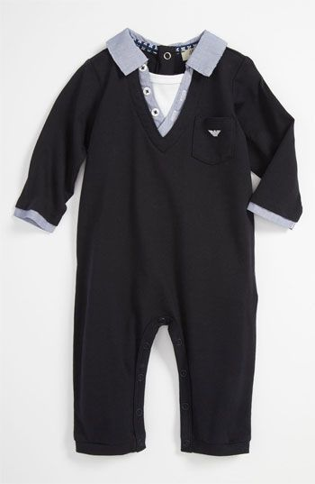 OMG! For those snazzy days haha Armani Junior Romper (Infant)