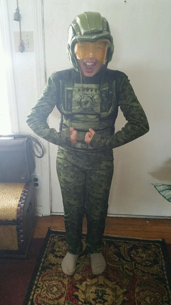 Armyman realistic Halloween costume with mask #Disguise