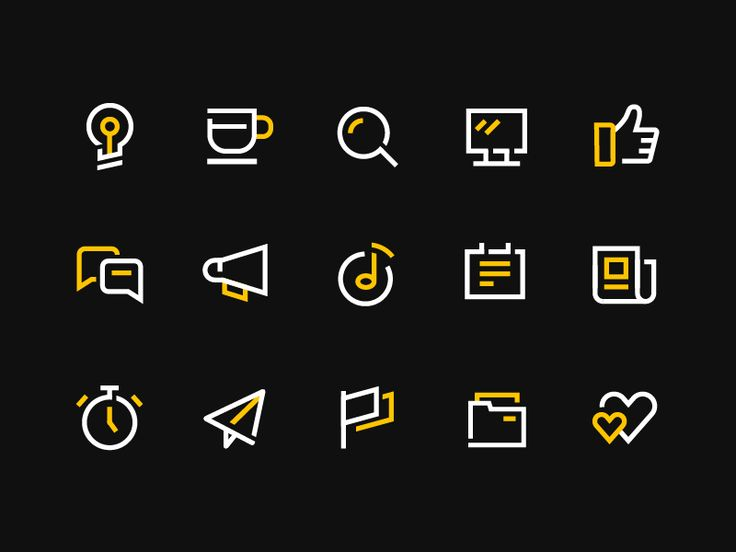 Some icons Pls check here——MY WORK——Look at my other work