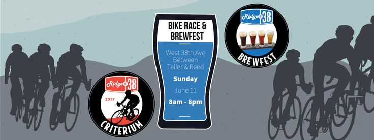 The 2017 Ridge at 38 Criterium bike race and Brewfest and accompanying festivities will take place in front of Wheat Ridge Cyclery on Sunday, June 11. The Ridge at 38 Criterium is a cycling race on a fast, 1.15 mile course in the in the heart of Wheat Ridge. Back this year is a Brewfest featuring some of the best local breweries. In addition to racing and beer, the event features free festivities for spectators, including a family-friendly festival with food, live music, vendors, lively…