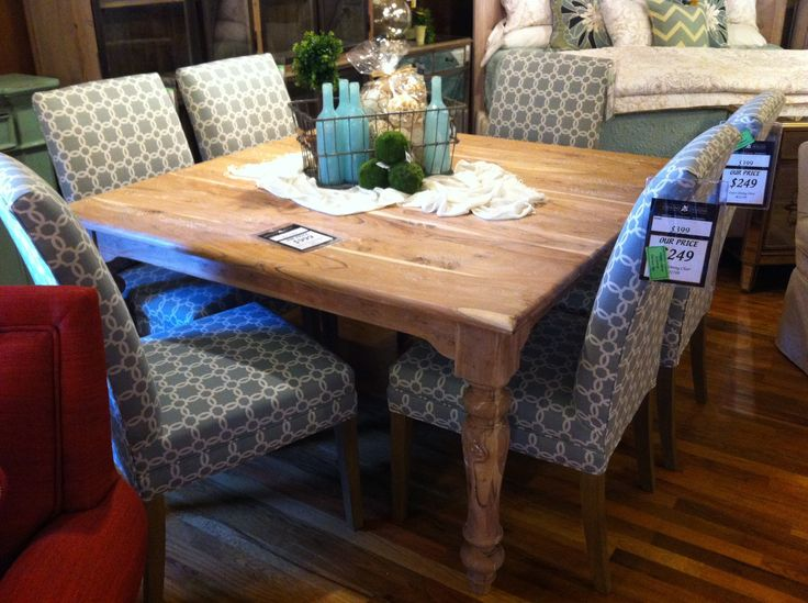 Square Distressed Dining Room Table At Osmond Designs In Orem And Lehi Utah