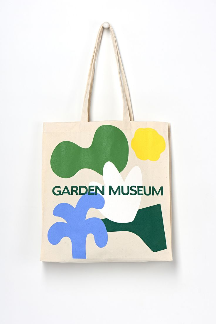 New Logo and Identity for Garden Museum by Pentagram