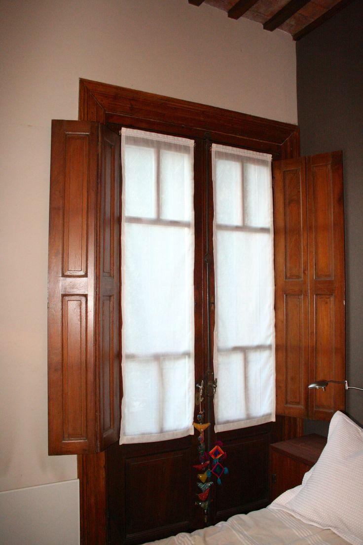 Las 25 mejores ideas sobre cortinas para la puerta - Visillos para dormitorios ...