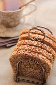 PAIN DU MATIN AUX FLOCONS D'AVOINE ET AU MIEL (40 Propoints pour le pain entier)                                                                                                                                                                                 Plus
