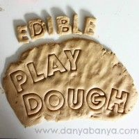 Edible Playdough Recipe