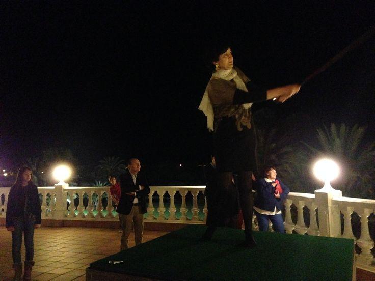 Competición de golf nocturno del Torneo Benéfico Centro Farmacéutico