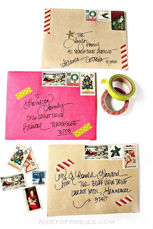 3封筒デコレーション小包