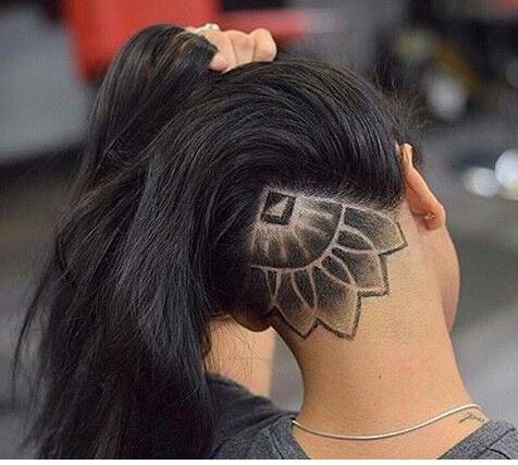 Cool idea for under your hair