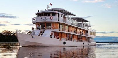 AMAZON RIVERBOAT ADVENTURE From $1875CAD CHECK AVAILABILITY Was $2499.00 — Savings of 25% on Mar. 22, 2014 9 DAYS,LIMA TO LIMA Explore the Pacaya-Samiria National Reserve – the largest national park in Peru, dine on food fresh from the jungle, spot pink dolphins on the Amazon River, interact with members of the local community, learn the intricacies of Amazon wildlife Call me to book today! 1-888-564-7714 or visit our website at http://judiesdreamescapes.cruisebrothers.com/