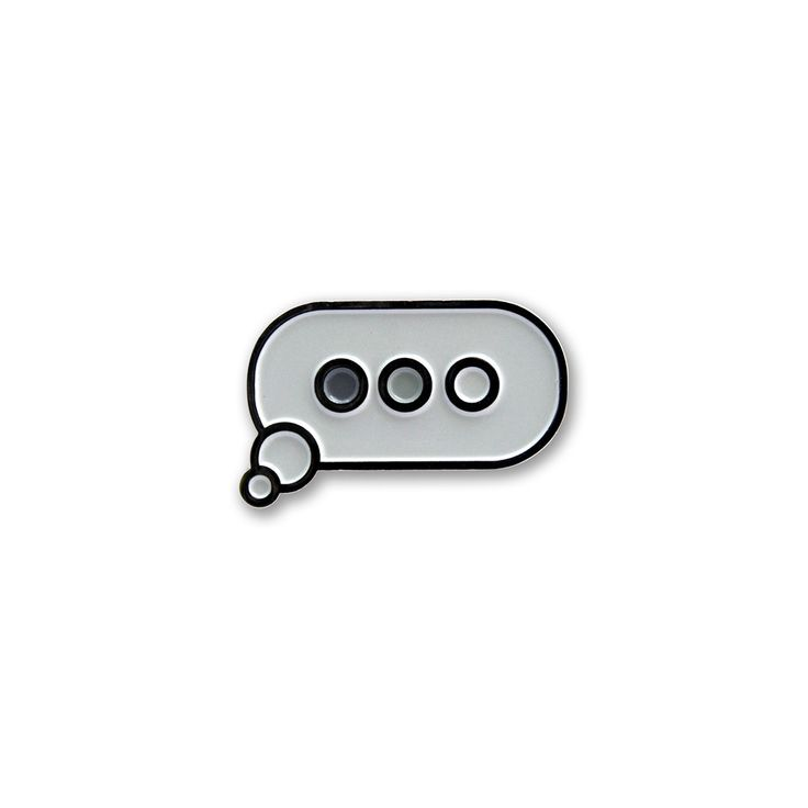The Wait - Chat Balloon pin – easilyamused