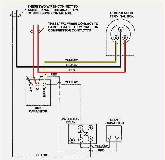 55 New Potential Relay Wiring Diagram- A govern relay is