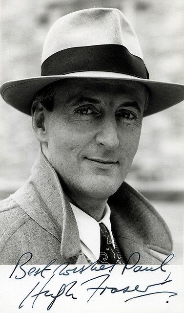 Captain Hastings (Hugh Fraser) from Agatha Christie's Poirot