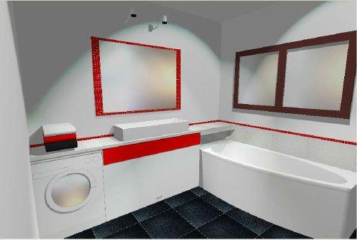 Projekt łazienki - wizualizacje - Projektowanie wnętrz - forum.muratordom.pl