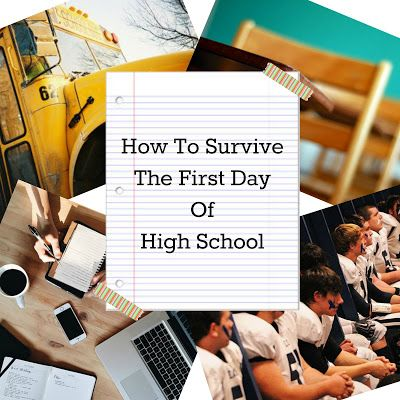 H4L Writes : How To Survive The First Day Of High School http://h4lwrites.blogspot.com/2015/08/how-to-survive-first-day-of-high-school.html