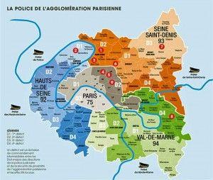 Parigi: mappa delle zone pericolose