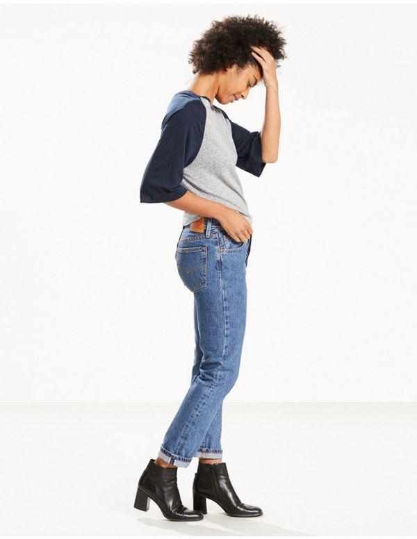 501 Selvedge Skinny Jeans
