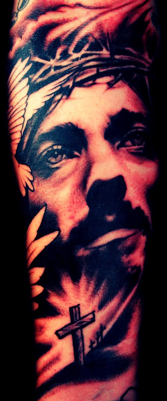 Jesus Christ - Tattoo Art Work                                                                                                                                                                                 Mais