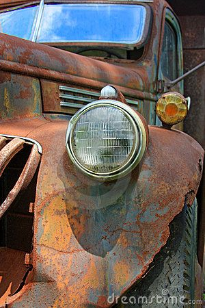 Old Rusty Chevy Truck
