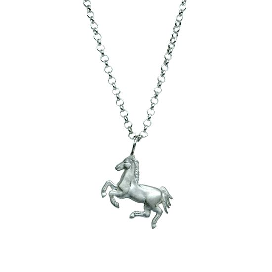 Galloping horse, sterling silver | my-precious.com