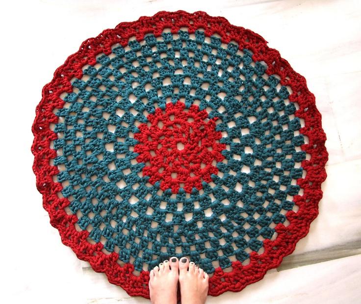 Sweet: Venta de alfombras de Ganchillo XXL