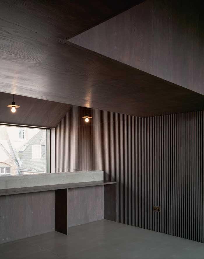 The North Wall / Haworth Tompkins Architects – nowoczesna STODOŁA | wnętrza & DESIGN | projekty DOMÓW | dom STODOŁA