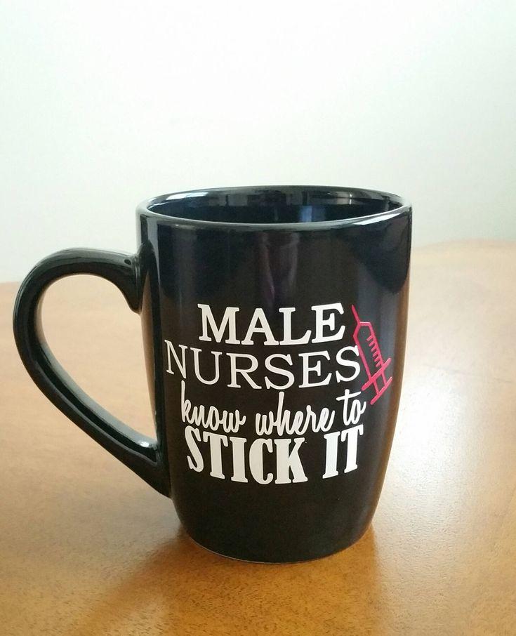 Male Nurses Coffee Mug, Nurse, Male Nurse, Nursing Student, Nurse Gift, Nurse Graduation Gift, Nurse Coffee Mug, RN Mug, Nurse Appreciation by TraceysTrendyVinyl on Etsy