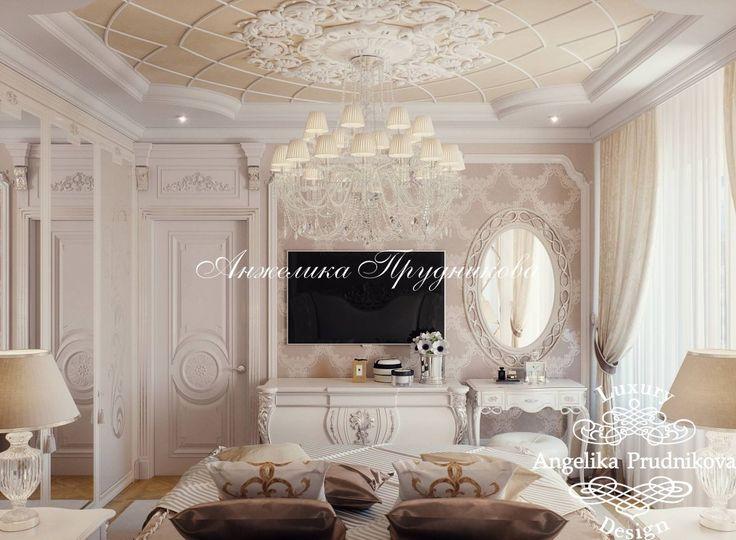 Дизайн интерьера квартиры в Классическом стиле в ЖК Отрада - фото