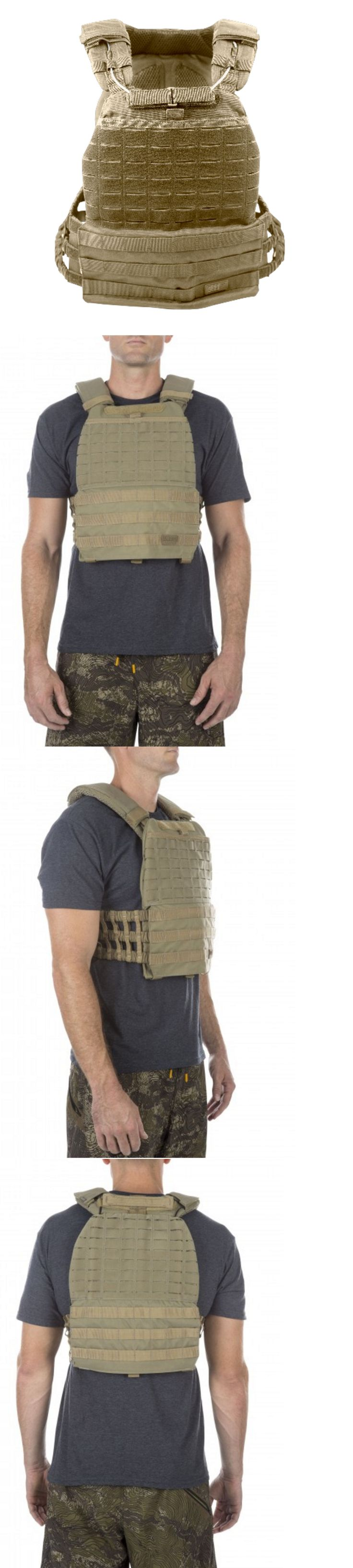 Chest Rigs and Tactical Vests 177891: 5.11 Tactical Tactec™ Plate Carrier Sandstone Crossfit Airsoft Swat Police Vest -> BUY IT NOW ONLY: $180.49 on eBay!