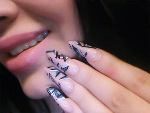 Uñas Acrilicas -  piramidales... wow###