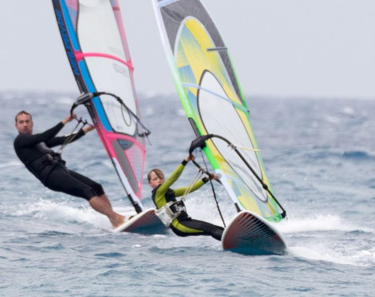 Windsurfing in Ixia