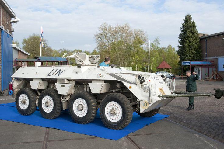 Laatste Unifil pantservoertuig in NMM - Nationaal Militair Museum