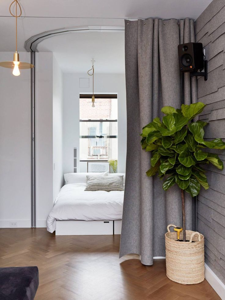 Inside a Micro-Apartment That's Packed With Small-Space Decorating Ideas