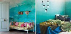 Las paredes son una parte importante de la decoración. El degradado es un efecto estupendo para renovar las paredes.